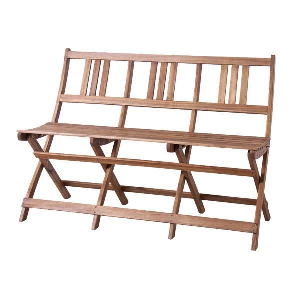 ガーデンチェア 三人掛け 3人用 木製 木製 木製 椅子 ウッド アウトドア ベランダ テラス 313
