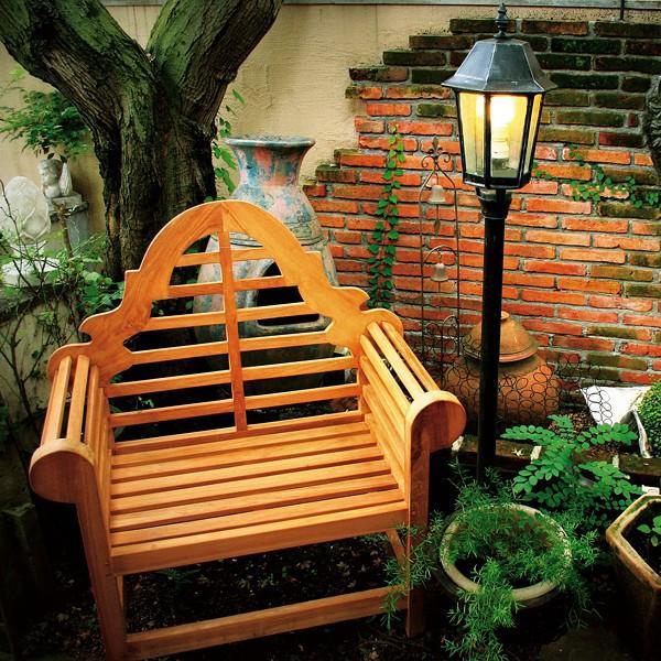 ガーデンチェア 椅子 ガーデン 庭 屋外 木製 貴族 城 ヨーロピアン 西洋 おしゃれ