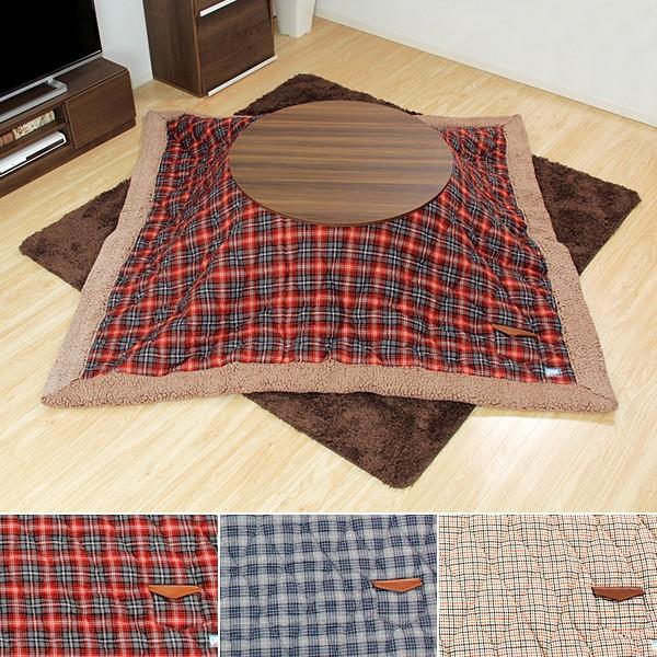 コタツ セット テーブル 丸 円 こたつ掛け布団 長方形 おしゃれ