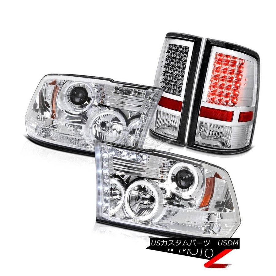 A set LED Headlight Kit Bulbs White Hi//Low Beam For Dodge Ram 1500 2011-2009