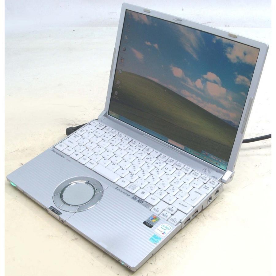 ノートパソコン 中古 Panasonic Let'snote レッツノート CF-W5KW8AXS Corei5 メモリ 1GB HDD 60GB 12.1インチ液晶 usedpc