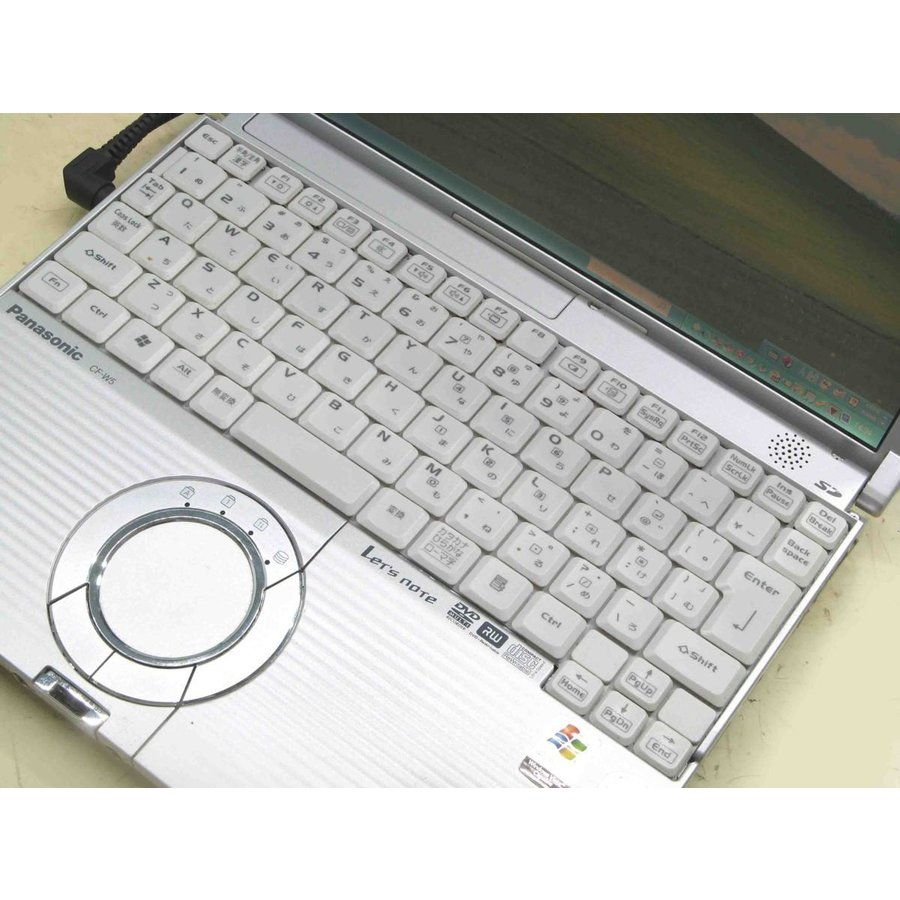 ノートパソコン 中古 Panasonic Let'snote レッツノート CF-W5KW8AXS Corei5 メモリ 1GB HDD 60GB 12.1インチ液晶 usedpc 02