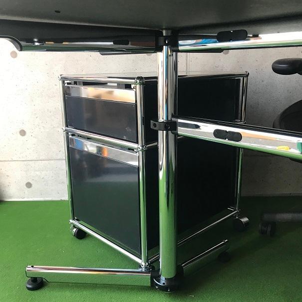 クロムの脚が美しい、エグゼクティブ向けのワークデスク「USM Kitos キトステーブル」|usm-haller-upcycle-u|08