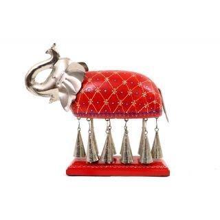 送料無料!RM Metal Hanging Bell Elephant for Home Decoration