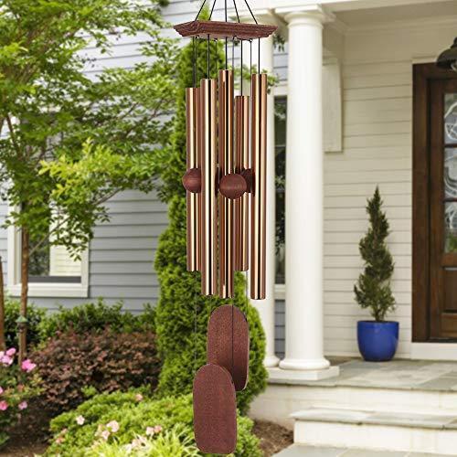 送料無料!ASTARIN Wind Chimes for Outside, Memorial Wind Chimes Outdoor, Gifts for Housewarming/Christmas/Mother, Sympathy Wind-Chime P