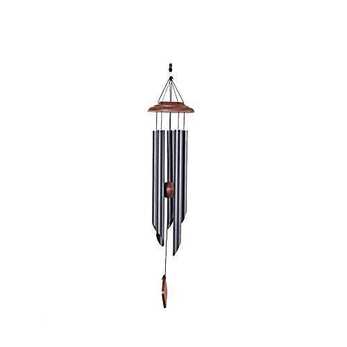送料無料!Qin Wind Chime, 16'' Bamboo Wooden Birdhouse Wind Chimes for Ourdoor & Indoor,Garden, Yark, Patio and Home Decoration (Color
