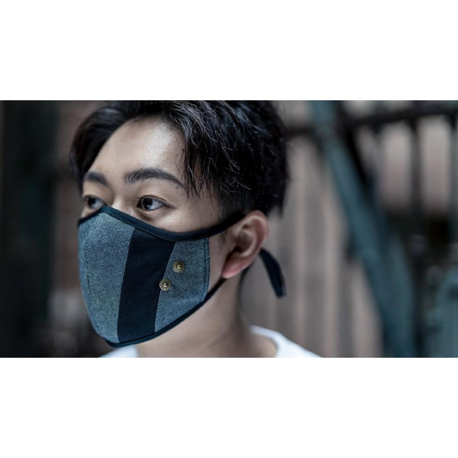 マスク 立体構造 布 洗える 繰り返し デニム 調節可 ユニセックス 小顔効果 おしゃれ やわらか|usutamastore|14