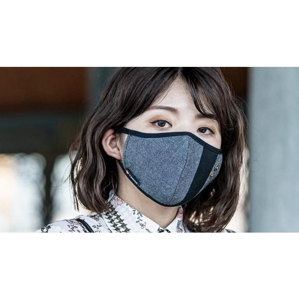 マスク 立体構造 布 洗える 繰り返し デニム 調節可 ユニセックス 小顔効果 おしゃれ やわらか|usutamastore|13