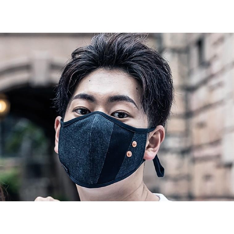 マスク 立体構造 布 洗える 繰り返し デニム 調節可 ユニセックス 小顔効果 おしゃれ やわらか|usutamastore|12