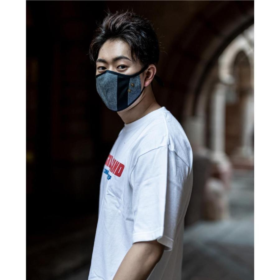 マスク 立体構造 布 洗える 繰り返し デニム 調節可 ユニセックス 小顔効果 おしゃれ やわらか|usutamastore|03
