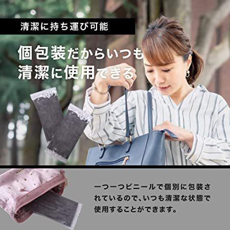 [ブランド] HOC アッシュ グレー マスク 50枚 使い捨て 個包装 3層構造 不織布マスク グレーマスク グレー utidenokozuchi 04