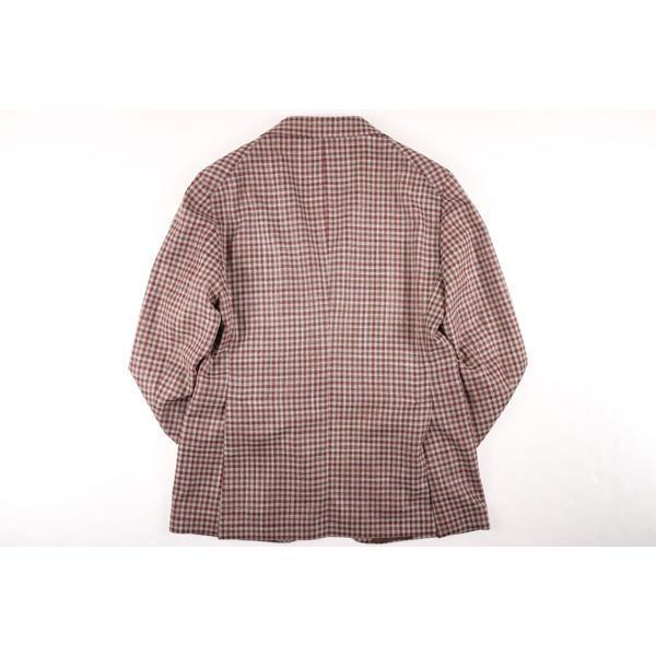 TAGLIATORE(タリアトーレ) ジャケット 1SMC22D ベージュ x ブラウン 50 【S21661】|utsubostock|07