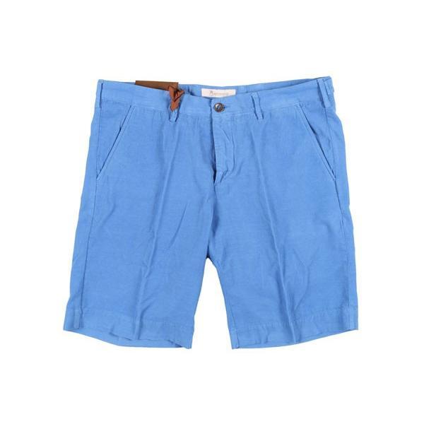 B SETTECENTO(ビーセッテチェント) ハーフパンツ B801-7006 ブルー 34 22848bl 【S22861】 utsubostock 02