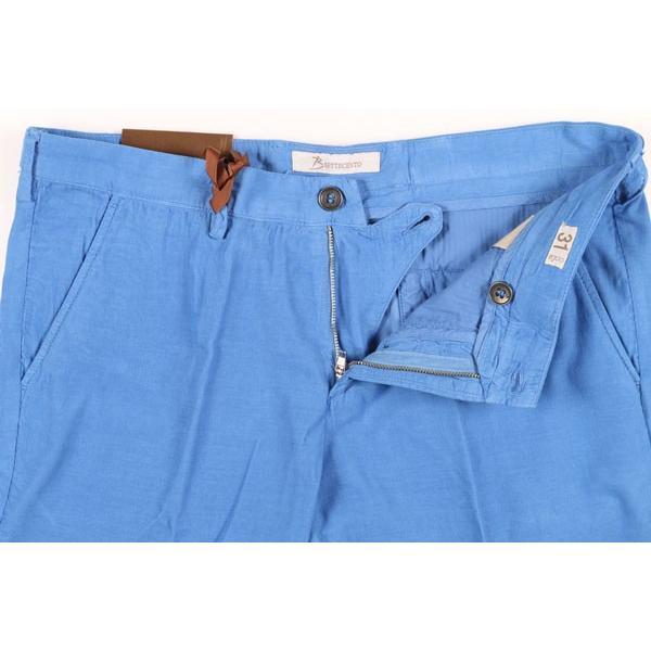 B SETTECENTO(ビーセッテチェント) ハーフパンツ B801-7006 ブルー 36 22848bl 【S22863】 utsubostock 04