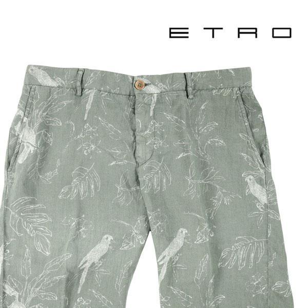 ETRO(エトロ) ハーフパンツ 1P432 カーキ 50 23038kh 【S23040】|utsubostock