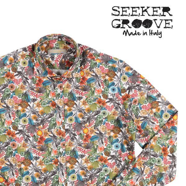SEEKER GROOVE(シーカーグルーブ) 長袖シャツ 660 マルチカラー XL 23381 【A23384】|utsubostock