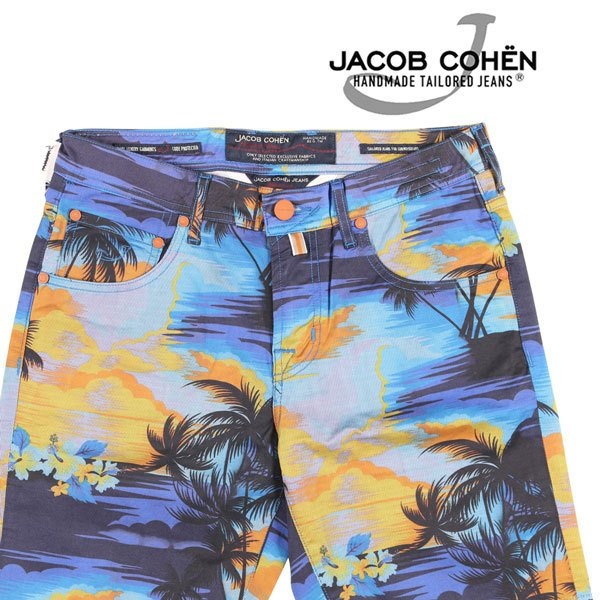 JACOB COHEN(ヤコブコーエン) ハーフパンツ J6636 マルチカラー 33 23456 【S23457】 utsubostock