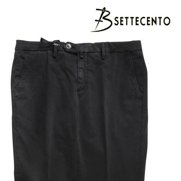 B SETTECENTO(ビーセッテチェント) パンツ 8029 ブラック 40 23733bk 【A23754】|utsubostock
