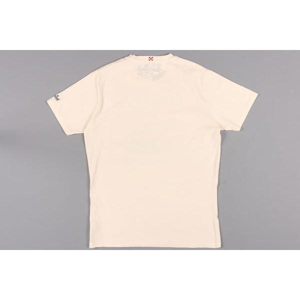 Saint Barth(セントバース) Uネック半袖Tシャツ TSHM001 DLRM11 アイボリー L 24787 【S24787】 utsubostock 05