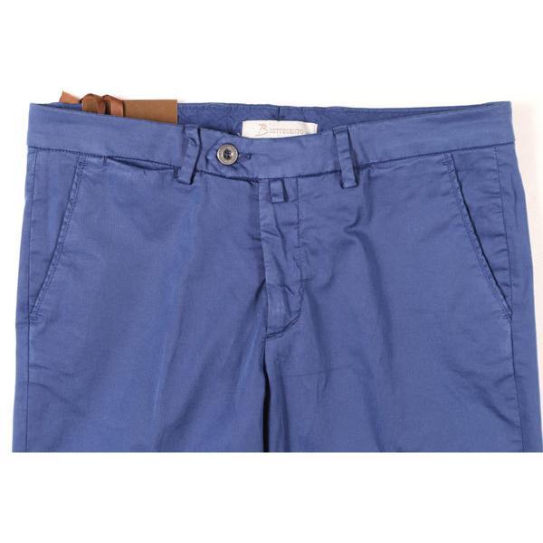 B SETTECENTO(ビーセッテチェント) パンツ MH700-9022 ブルー 30 25673 【A25673】|utsubostock|02