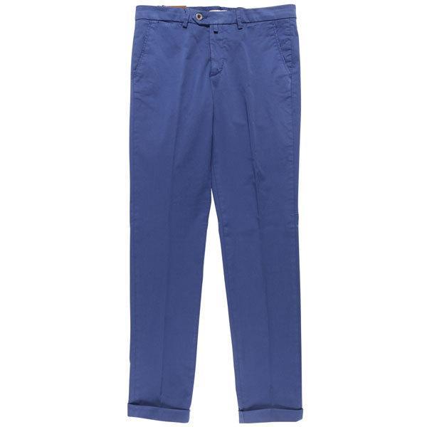 B SETTECENTO(ビーセッテチェント) パンツ MH700-9022 ブルー 31 25673 【A25674】|utsubostock