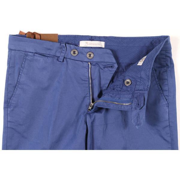 B SETTECENTO(ビーセッテチェント) パンツ MH700-9022 ブルー 33 25673 【A25676】|utsubostock|03