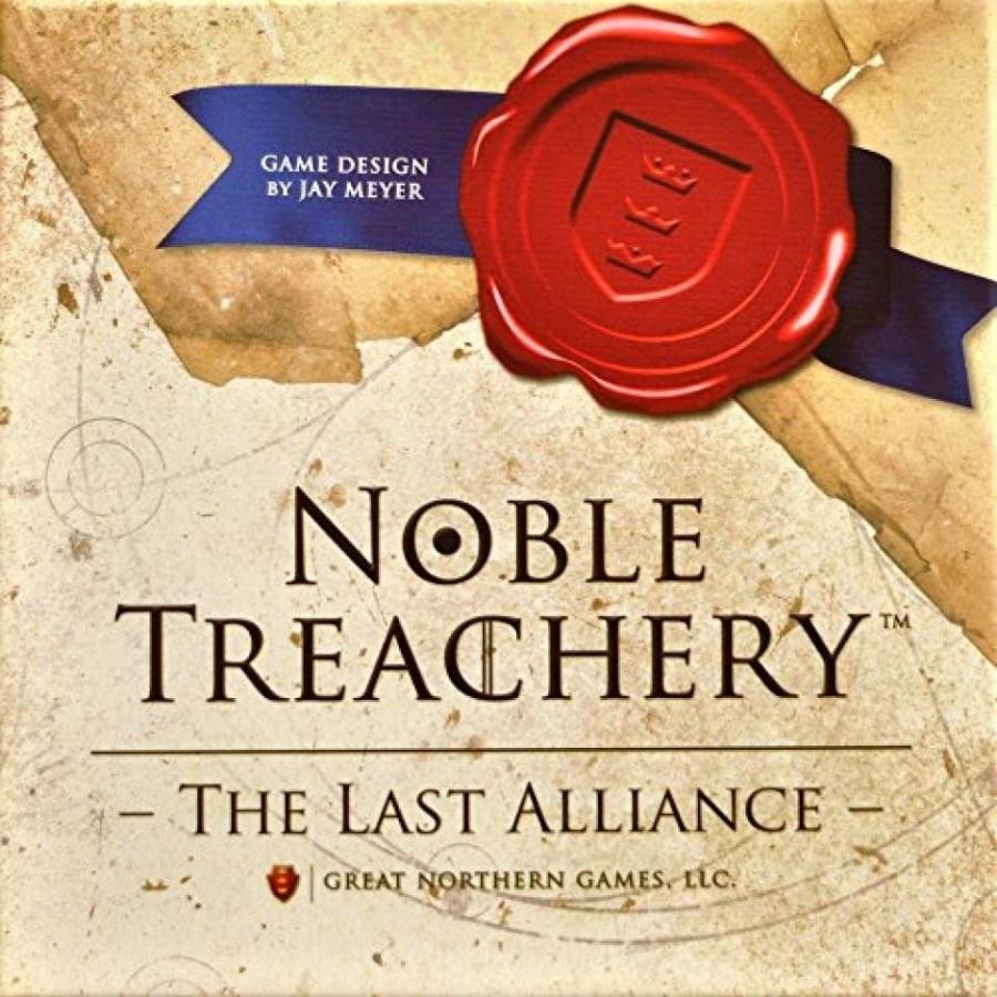 Noble Treachery Board Game 輸入品