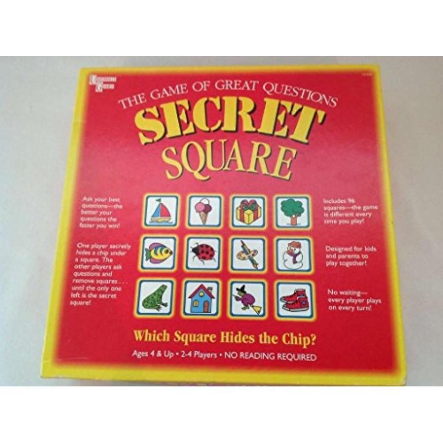 Secret Square Board Game 輸入品