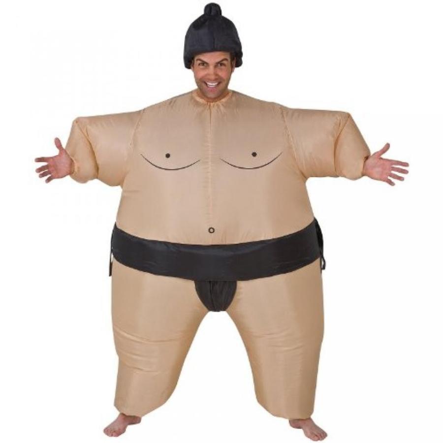 ハロウィン コスプレ 輸入品 Gemmy - Inflatable Sumo Adult Costume