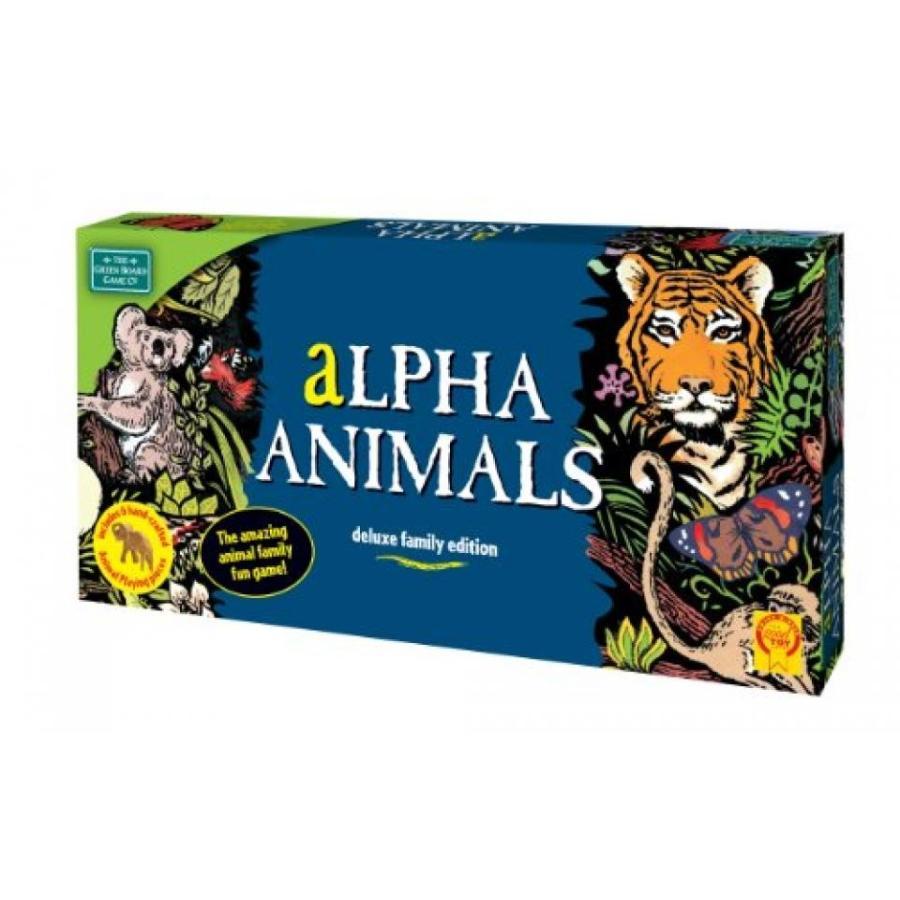 緑 Board Games Alpha Animals 輸入品