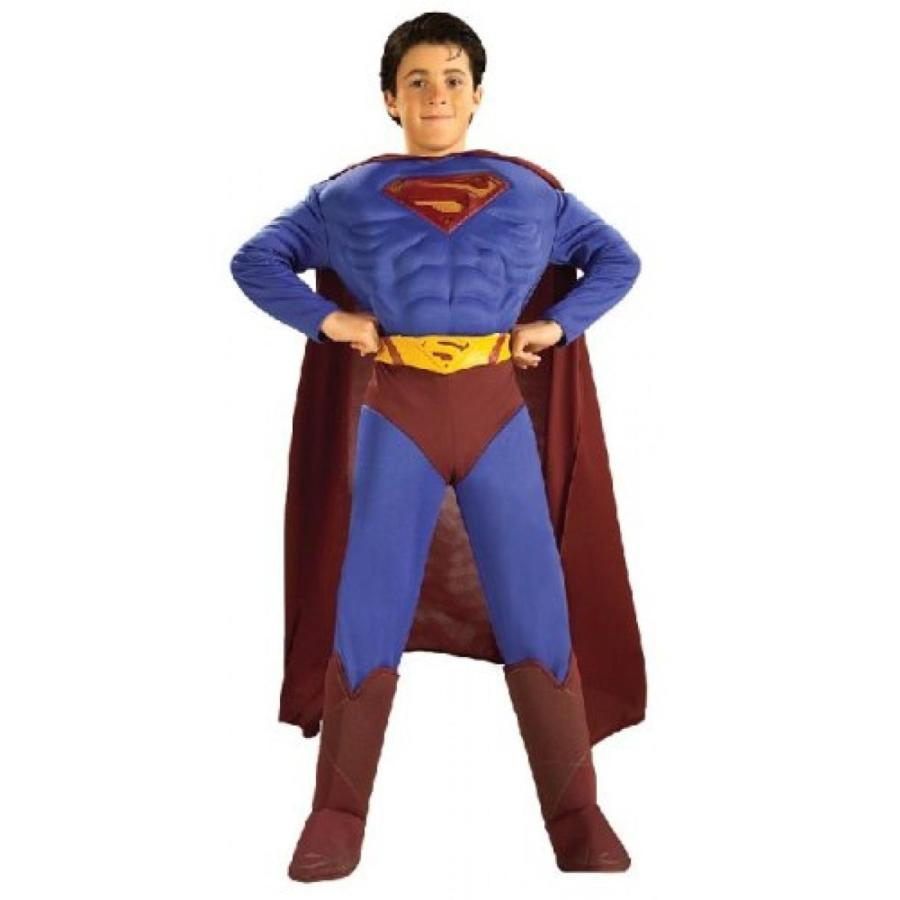 ハロウィン コスプレ 輸入品 Superman Deluxe Muscle Chest Child Costume