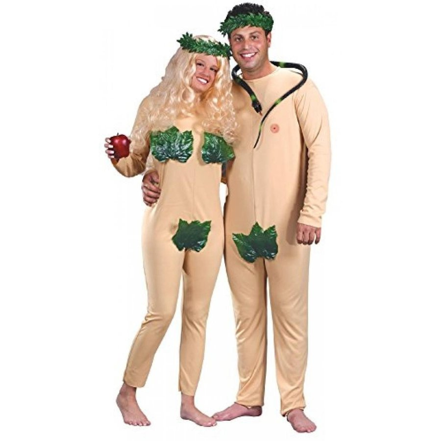 ハロウィン コスプレ 輸入品 Adam and Eve Adult Costume - Adult Std.
