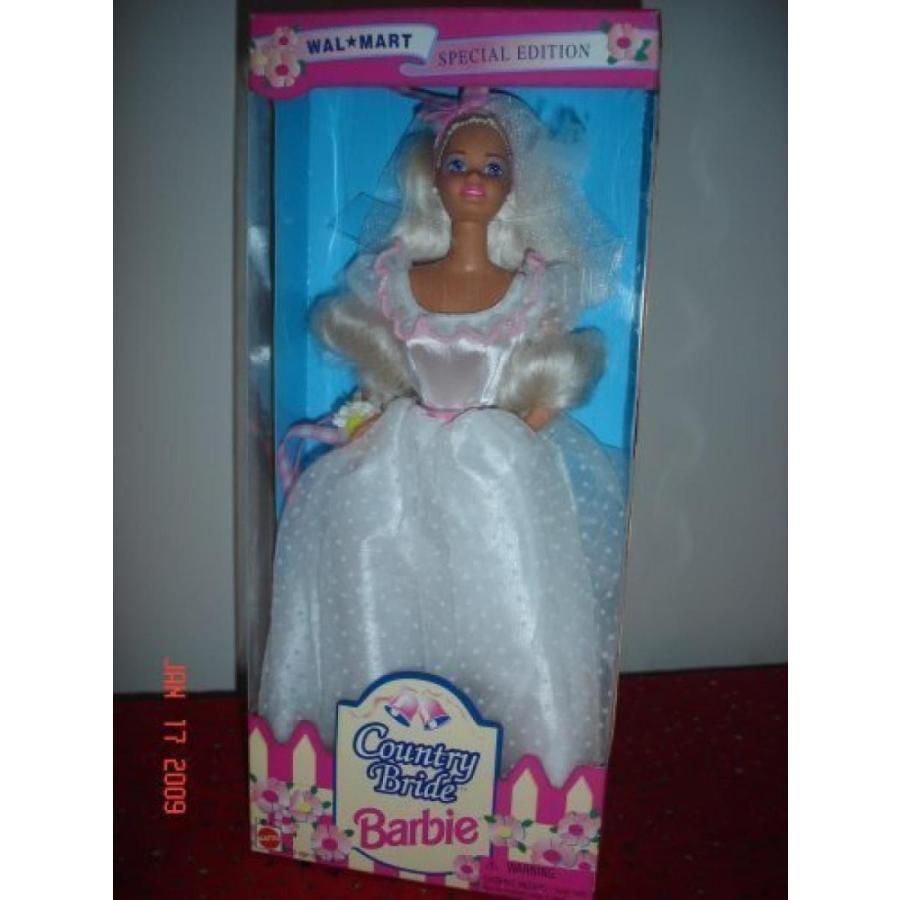バービー おもちゃ Barbie Doll Special Edition Wal-mart Country Bride 1994 輸入品