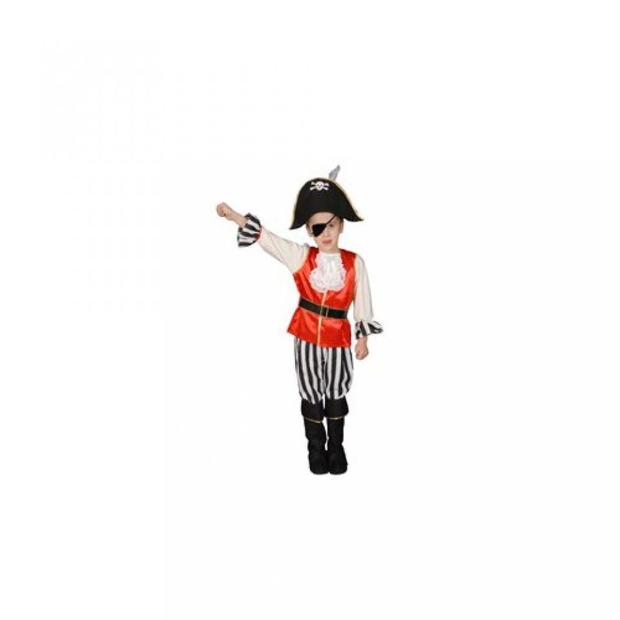 ハロウィン コスプレ 輸入品 Pretend Deluxe Pirate Boy Child Costume Dress-Up Set Size 4-6