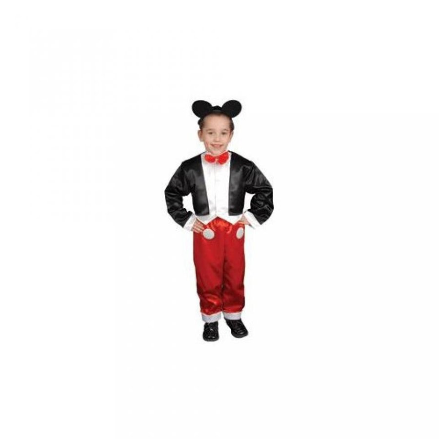 ハロウィン コスプレ 輸入品 Pretend Deluxe Mr Mouse Child Costume Dress-Up Set Size 16-18