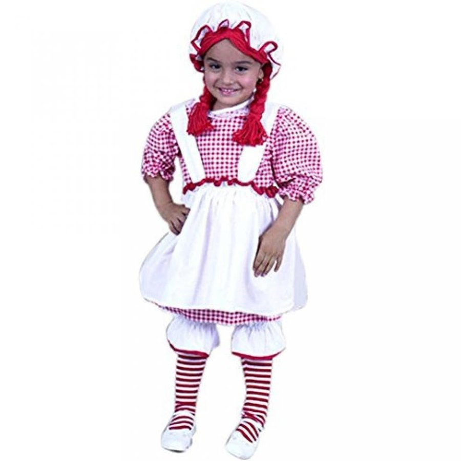 ハロウィン コスプレ 輸入品 Child's Toddler Raggedy Ann Halloween Costume (2-4T)
