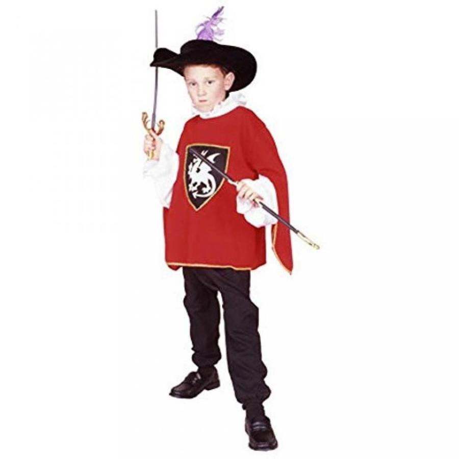 ハロウィン コスプレ 輸入品 Child's 赤 Musketeer Costume (Size