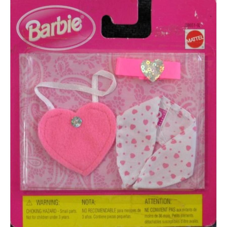 バービー おもちゃ Barbie Fashion Accessories - 3 Pieces (1998 Arcotoys, Mattel) 輸入品