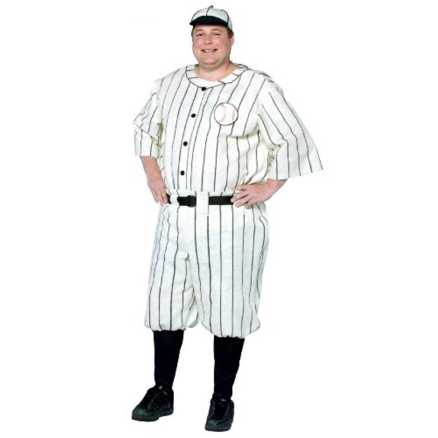 ハロウィン コスプレ 輸入品 Rasta Imposta Plus-Size Old Tyme Baseball Player