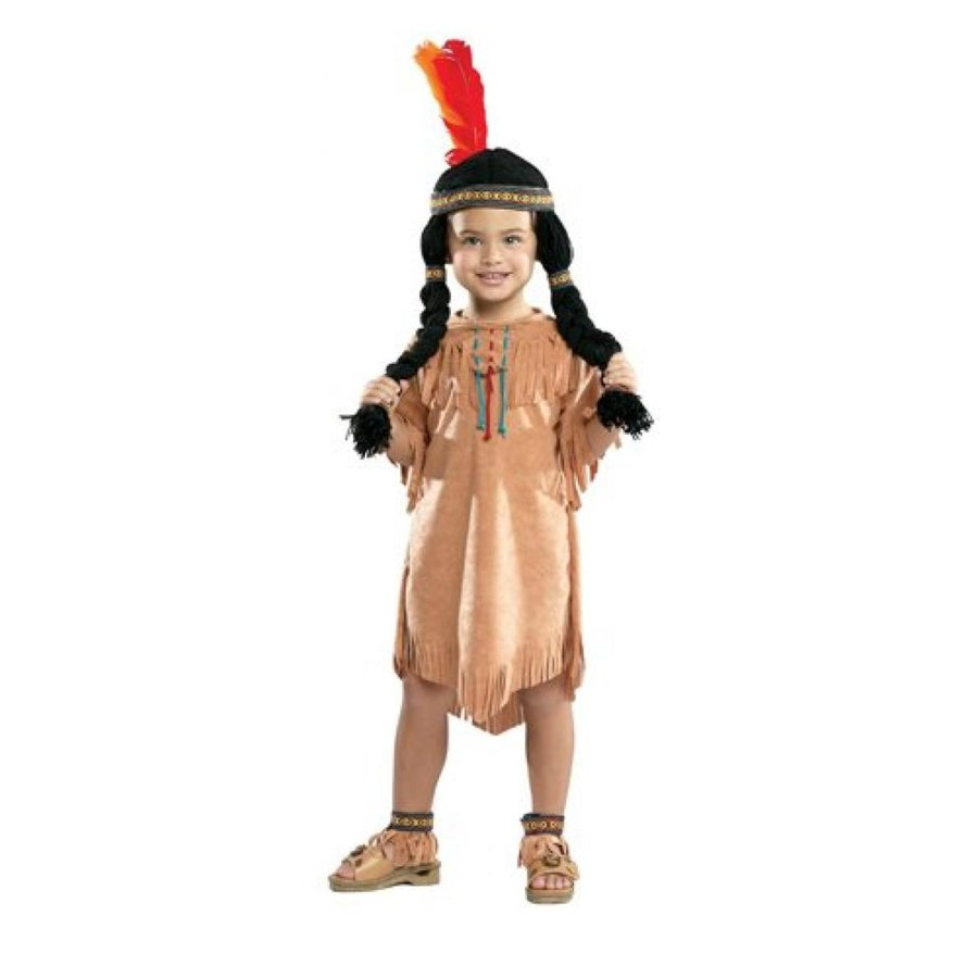 ハロウィン コスプレ 輸入品 Indian Girl Native American Child Costume
