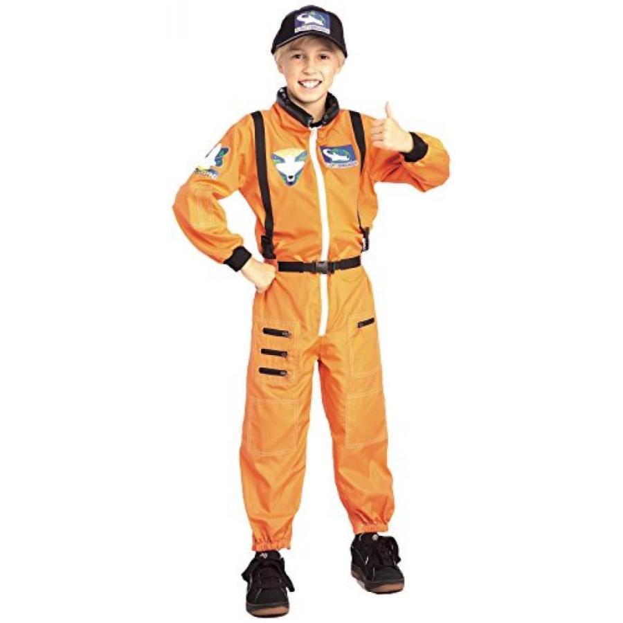 ハロウィン コスプレ 輸入品 オレンジ Astronaut Suit Kids Costume