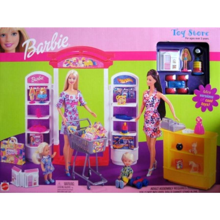 バービー おもちゃ Barbie Toy Store - 2002 Mattel Playset 輸入品