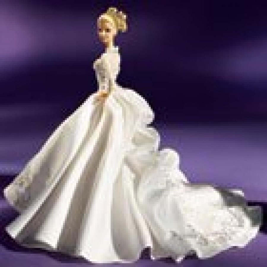 バービー おもちゃ Reem Acra Bride Barbie Platinum Label 輸入品