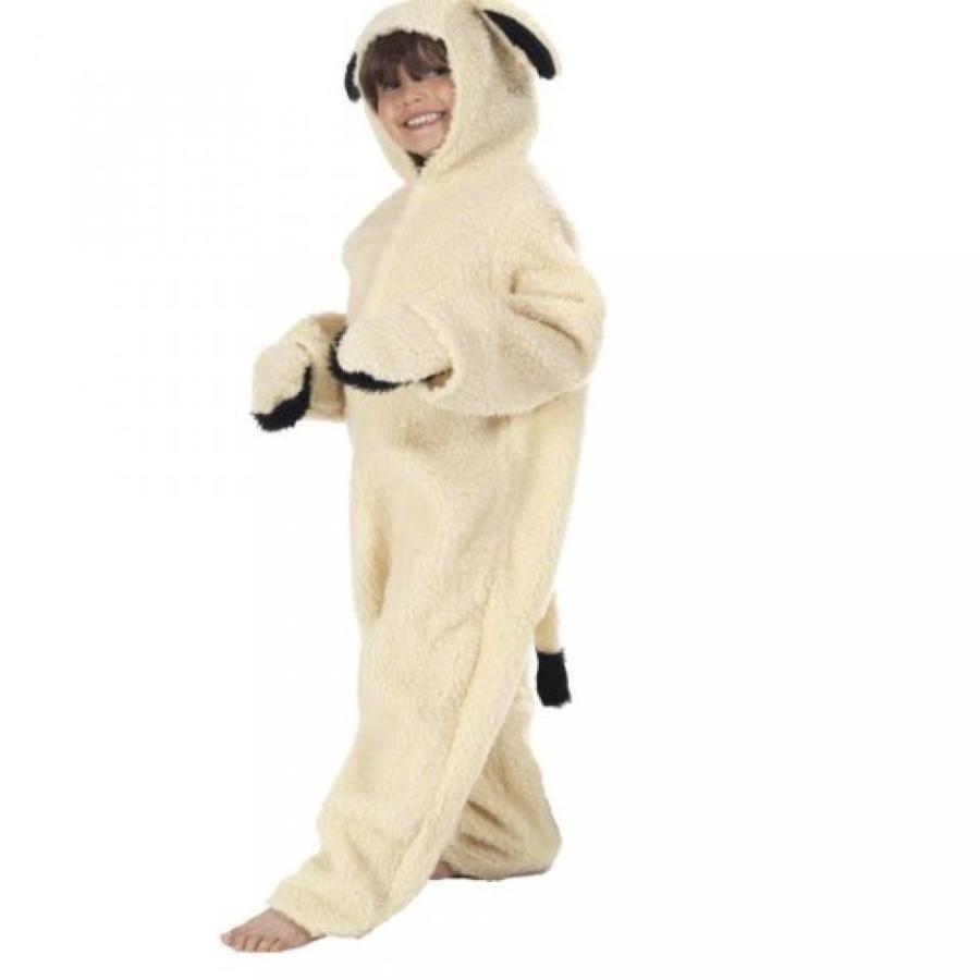 ハロウィン コスプレ 輸入品 Lamb or Sheep Costume for Kids, Cream
