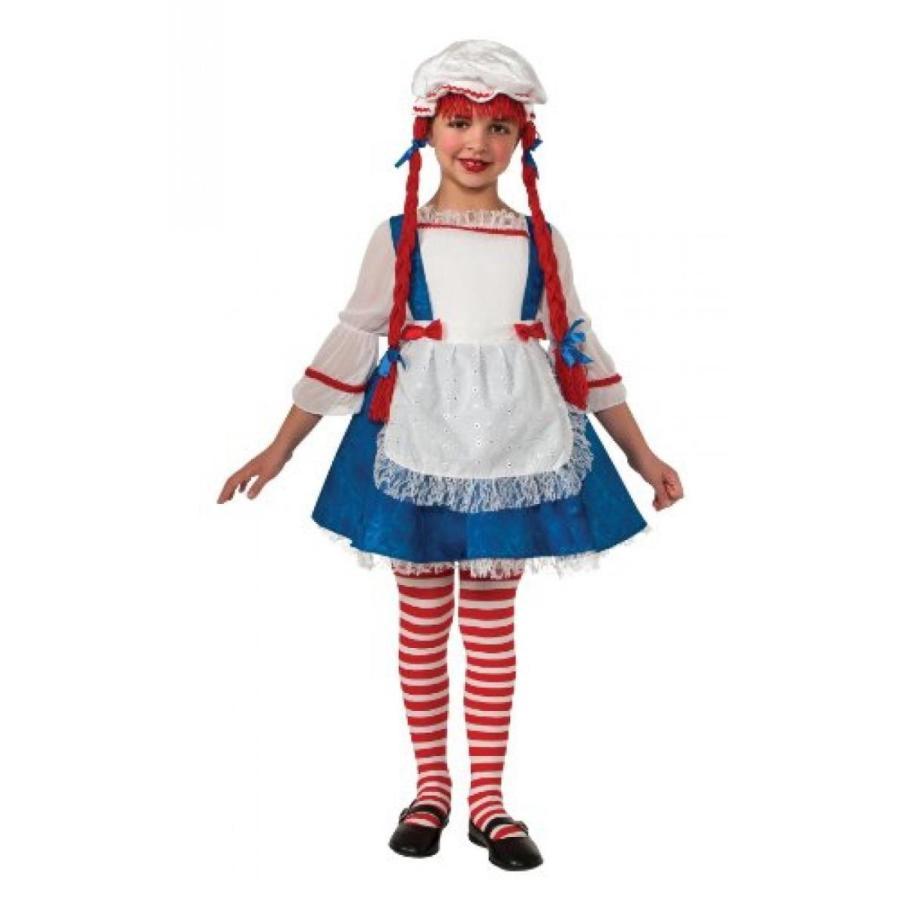 ハロウィン コスプレ 輸入品 Yarn Babies Girl Ragdoll Costume, Medium