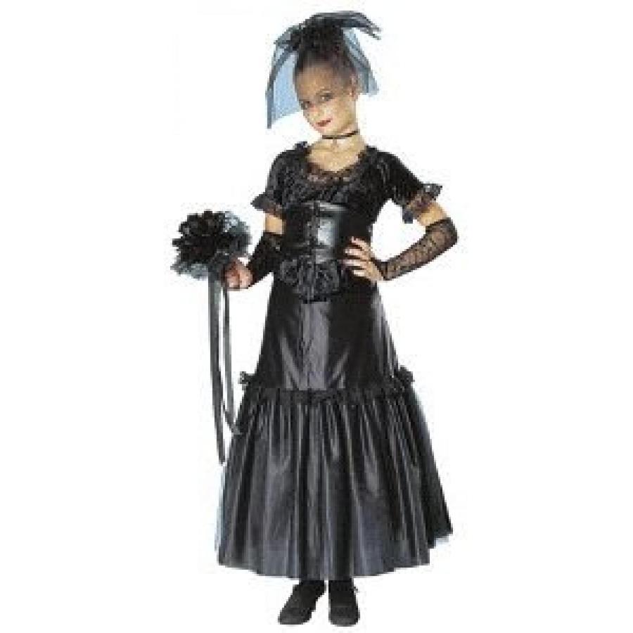 ハロウィン コスプレ 輸入品 Gothic Bride Child Halloween Costume Size 4-6 Small