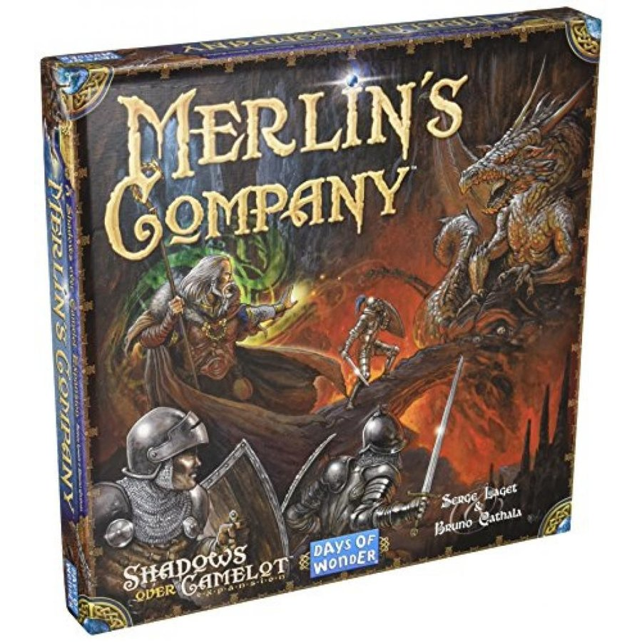 Days of Wonder Shadows Over Camelot Merlin's Company Board Game 輸入品