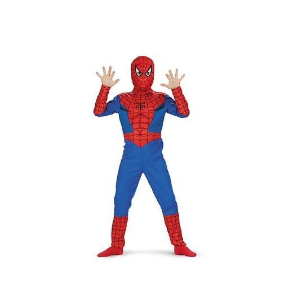 ハロウィン コスプレ 輸入品 Little Boys' Spider Man Costume Medium (7-8) by Disguise Costumes