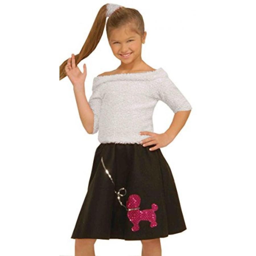 ハロウィン コスプレ 輸入品 Forum Novelties Sock Hop Top Child Costume, Large