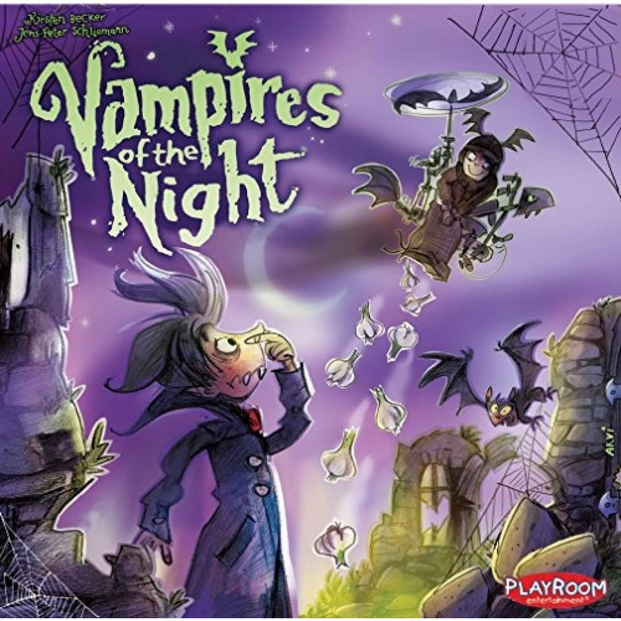 Vampires of The Night Board Game 輸入品